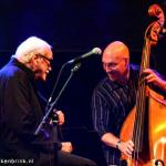 Jean Toots Thielemans with Scott Colley photo Hans Speekenbrink